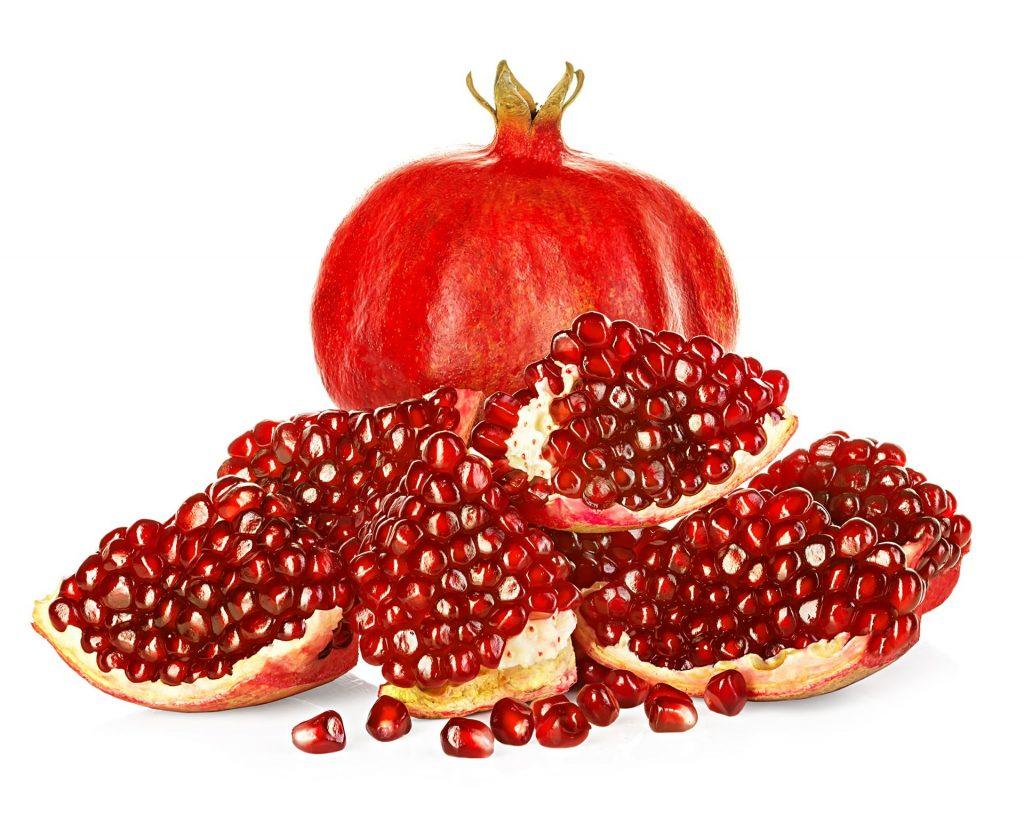 Reife Granatäpfel